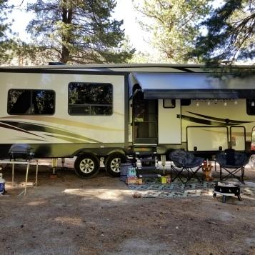 1st camping spot_Lee Vining