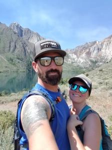 convict lake selfie