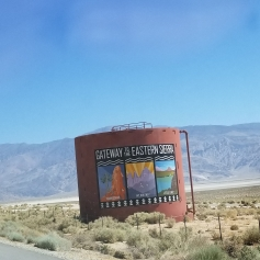 entering the eastern sierras