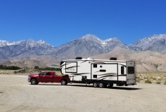 """On our way to Mammoth... look at that beast. We LOVE our new """"house"""" June 2018"""