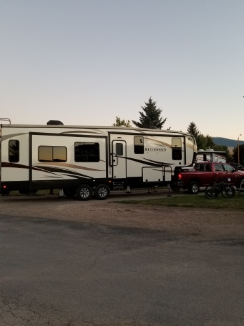 camping spot at Jellystone
